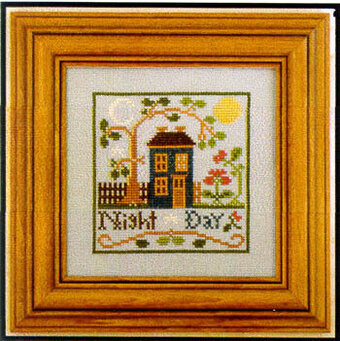 Night & Day - Cross Stitch Pattern