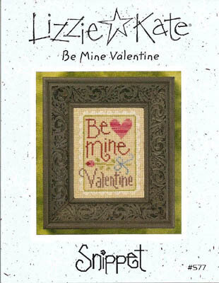 Be Mine Valentine (Snippet) - Cross Stitch Pattern