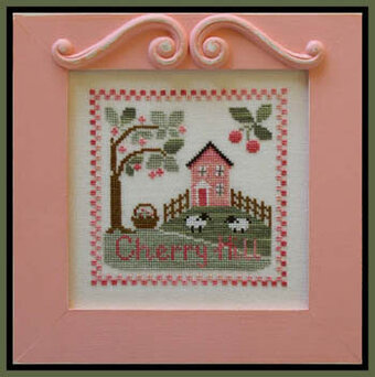country cottage needleworks cherry hill cross stitch pattern rh 123stitch com country cottage needleworks cross stitch patterns country cottage cross stitch designs