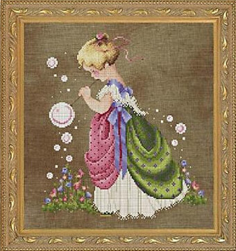 Isabella's Garden - Cross Stitch Pattern