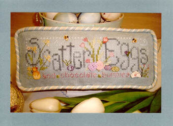 Scatter Eggs - Cross Stitch Pattern