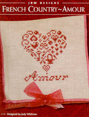 French Country Amour - Cross Stitch Pattern