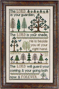 My Shade - Cross Stitch Pattern