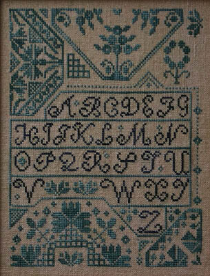 Quaker Alphabet - Cross Stitch Pattern