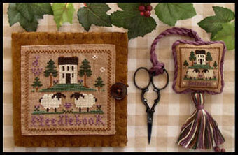 Needlebook & Fob - Cross Stitch Pattern