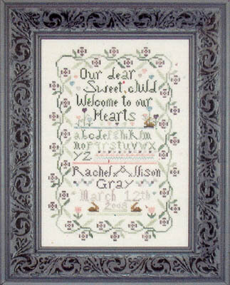 Sweet Baby Sampler - Cross Stitch Pattern