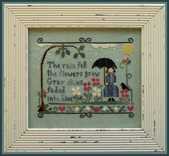 Rain Fell, The - Cross Stitch Pattern