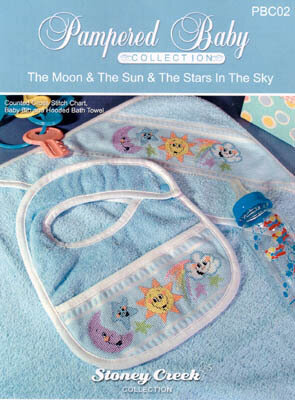 Moon & The Sun & The Stars In The Sky - Cross Stitch Pattern