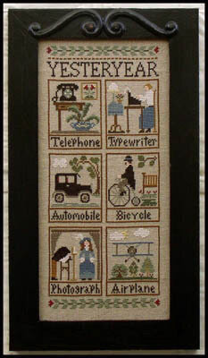 Yesteryear - Cross Stitch Pattern