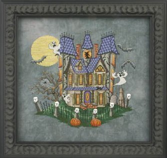 Murky Manor - Cross Stitch Pattern