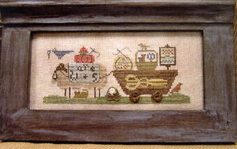 Delivering Needlewares - Cross Stitch Pattern