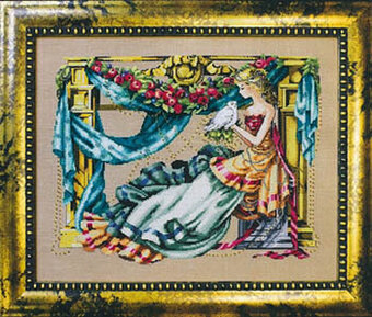 Athena Goddess of Wisdom - Mirabilia Cross Stitch Pattern