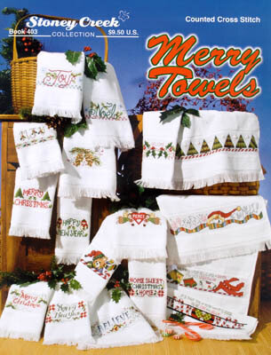 Merry Towels - Cross Stitch Pattern