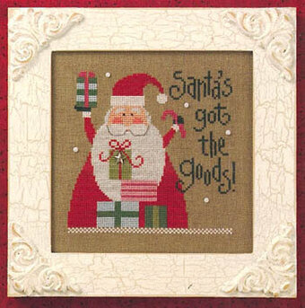 Santa's Got The Goods - Santa 08 - Cross Stitch Pattern