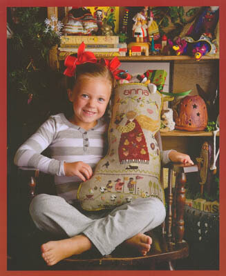 Anna's Stocking - Cross Stitch Pattern