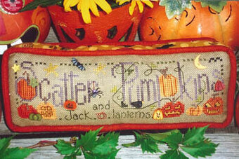 Scatter Pumpkins - Cross Stitch Pattern