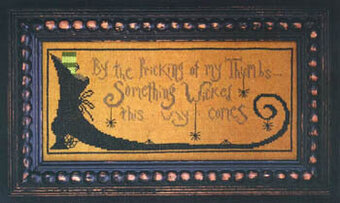 Something Wicked - Cross Stitch Pattern