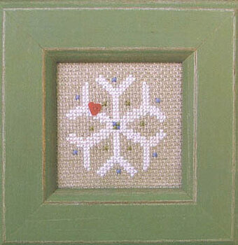 Pearls - Frosty Flakes - Cross Stitch Pattern