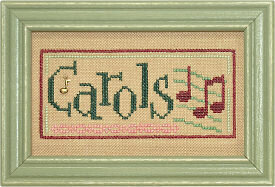Christmas Spirit Double Flip - Carols/Peace - Cross Stitch