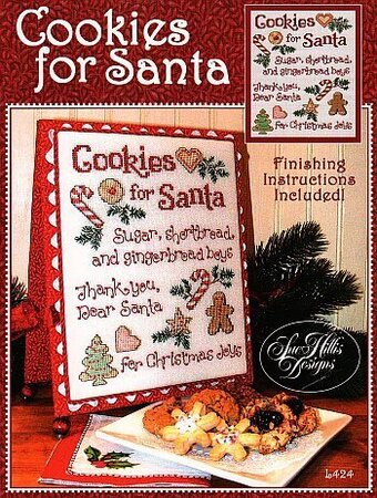 Cookies for Santa - Cross Stitch Pattern