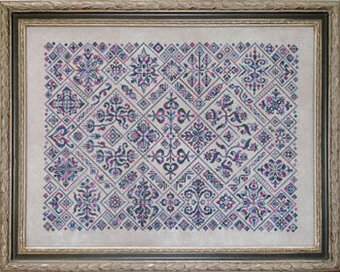 Cirque Des Carreaux - Cross Stitch Pattern
