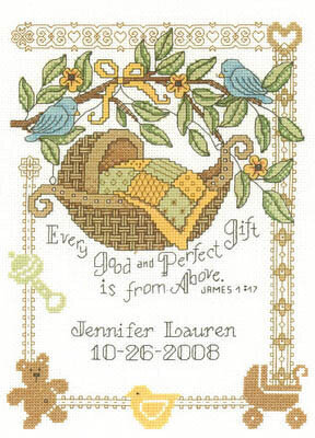 Perfect Gift - Cross Stitch Pattern