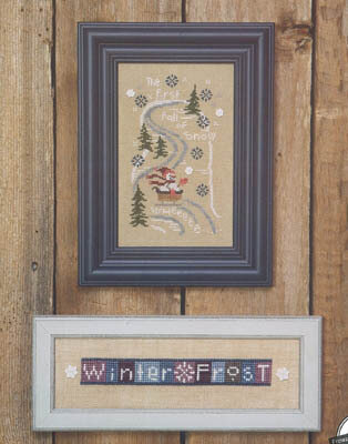 First Fall of Snow, The - Cross Stitch Pattern