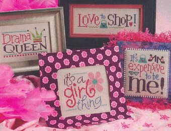 It's A Girl Thing - Cross Stitch Pattern