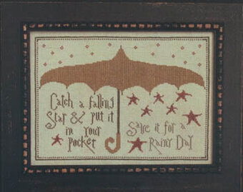 Falling Star, A - Cross Stitch Pattern