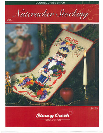 Nutcracker Stocking - Cross Stitch Pattern