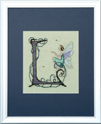 Letters From Nora - L - Cross Stitch Pattern
