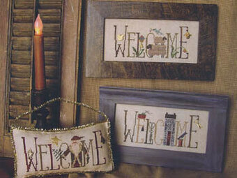 Welcomes A Plenty VII - Cross Stitch Pattern