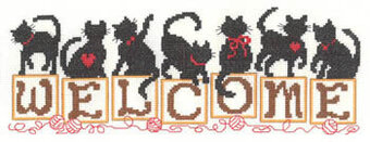 """14 Count Imaginating Counted Cross Stitch Kit 5/""""X6/""""-Holiday Surprise"""