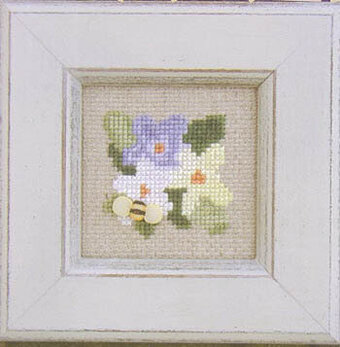 Pearls May Flowers - Cross Stitch Pattern
