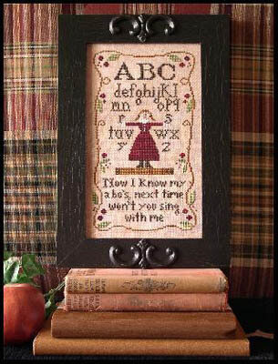 Alphabet Rhyme - Cross Stitch Pattern