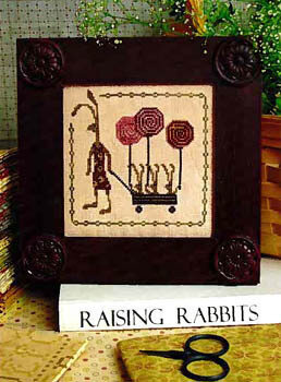 Hare's Spring - Cross Stitch Pattern