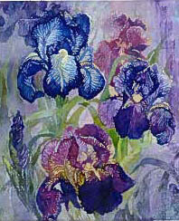 Iris - QS - Cross Stitch Pattern