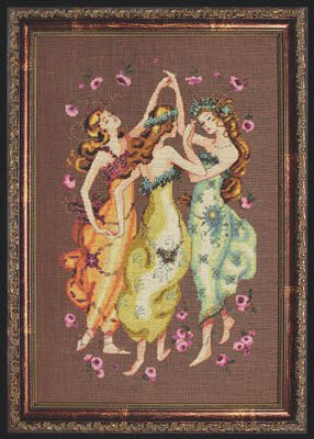 Circle of Friends - Mirabilia Cross Stitch Pattern