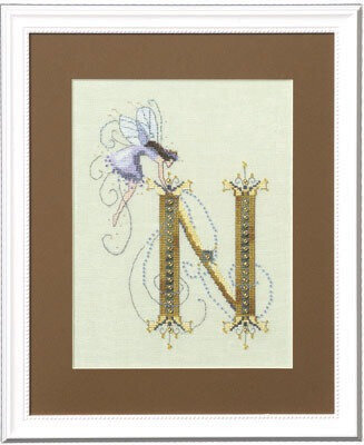 Letters From Nora - N - Cross Stitch Pattern