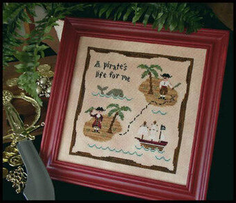Pirate's Life, A - Cross Stitch Pattern