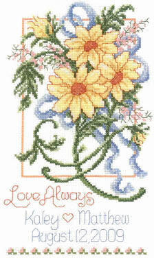 Summer Wedding - Cross Stitch Pattern
