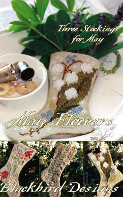May Flowers - Cross Stitch Pattern