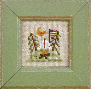 Pearls - Summer Camp - Cross Stitch Pattern