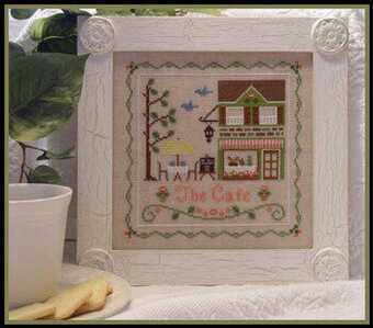 Cafe, The - Cross Stitch Pattern