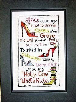 Life's Journey - Cross Stitch Pattern