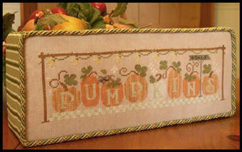 Pumpkins 4 Sale - Cross Stitch Pattern