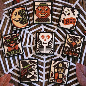 Boo To You - Cross Stitch Pattern