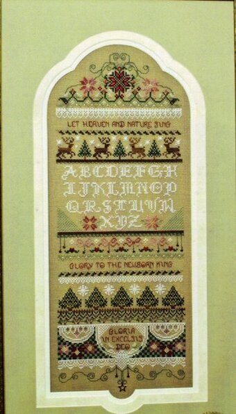 Christmas Sampler (chart pack) - Cross Stitch Pattern