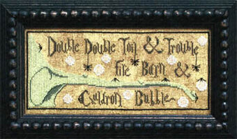 Toil & Trouble - Cross Stitch Pattern