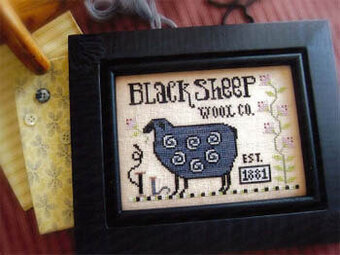 Sophie's Sheep - Cross Stitch Pattern